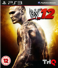 WW 12 PS3 Wrestling *in Excellent Condition*