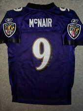REEBOK Baltimore Ravens STEVE McNAIR nfl THROWBACK Jersey YOUTH KIDS BOYS (L)