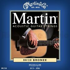 3 SETS MARTIN ACOUSTIC GUITAR STRINGS MEDIUM 13-56 UK SELLER