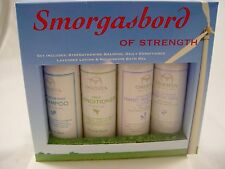 Onesta SMORGASBORD OF STRENGTH SET- Organic- STRENGTHENING SHAMPOO - CONDITIONER