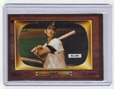 Ted Williams Boston Red Sox hall of famer '55 Color TV extension series #408