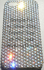 ROSE PINK Rhinestone Bling Back Case for iPhone SE 5 5S with Swarovski Crystals