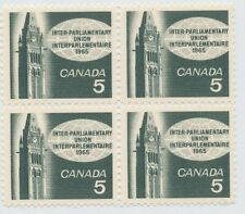CANADA 5 CENT STAMP 1965 INTER-PARLIAMENTARY UNION