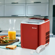 More details for electric countertop ice cube maker 2.6l portable ice machine w/ ice yield 20kg
