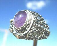 Amethyst - Ring Gr. 18,75 - Silber 925 !