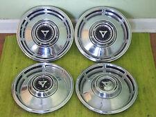 "67 68 Dodge Hub Caps 13"" Set of 4 Mopar Wheel Covers 1967 1968 Hubcaps"