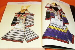 AN ILLUSTRATED BOOK OF JAPANESE ARMOR samurai kabuto katana yoroi #0387