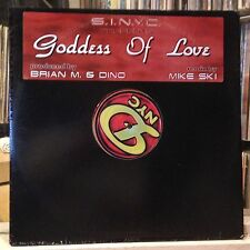 "[EDM]~EXC 12""~S.I.N.Y.C~BRIAN M~DINO~MIKE SKI~Goddess Of Love~{x2 Remixes]~"