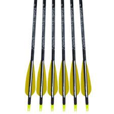 Easton GamegetterXX75 400 - Lot de 6 flèches en aluminium avec PLUMES NATURELLES