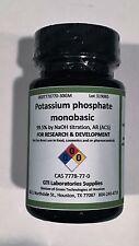 Potassium phosphate monobasic, 99.5% by NaOH titration, AR (ACS), 30g