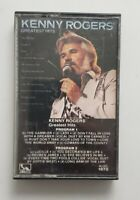 KENNY ROGERS GREATEST HITS ON CASSETTE.