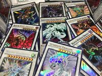 YUGIOH! 💎 PREMIUM 💎 SIGNER DRAGON COLLECTION LOT! STARDUST + BLACK ROSE! HOLO!