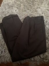 Dockers Black Pleated Relaxed Fit Pants Size 40x30