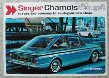SINGER CHAMOIS COUPE Car Sales Brochure 1967 #6503/H
