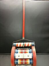 ANTIQUE CARNIVAL FISHER PRICE MELODY CHIME ROLLER MUSICAL TOY #123- 1950's