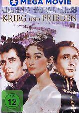 DVD NEU/OVP - Krieg und Frieden - Audrey Hepburn, Henry Fonda & Mel Ferrer