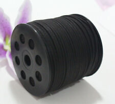 3mm 5yds Black DIY Craft Making Leather Cord Necklace Handmade Suede Thread Wire