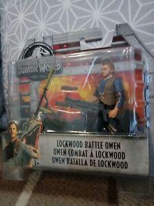 Jurassic World Lockwood Battle OWEN Mattel New in Blister