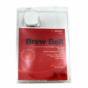 Youngs Home Brew heater belt for homebrew beer brewing wine making. Economical