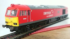 "Hornby R3150 DB Schenker Class 60 ""THESPIRIT OF TOM KENDALL"" No.60007 DCC Ready"