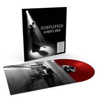 "Simply Red : Simplified VINYL 12"" Album Coloured Vinyl (2019) ***NEW***"