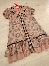axes femme Dress Japan-M Romantic Chiffon Hime&Lolita fashion Kawaii Shibuya109