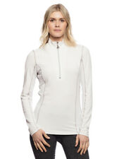 Goode Rider Long Sleeve Ideal Show Shirt-White-XL