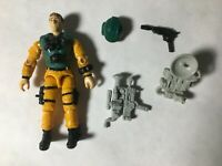 GI JOE ARAH Scoop 1989 V.1 With Accessories 99% Complete
