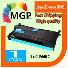 1 Compatible Cyan Toner for Samsung CLP610 CLP660 CLX-6200 CLX-6210FX CLP-610