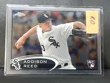 ADDISON REED-RC-ROOKIE-CARD- WHITE SOX-TOPPS-CHROME-2012-CARD-#166