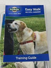 New listing PetSafe Easy Walk Dog Harness - Medium/Large - Black/Silver -