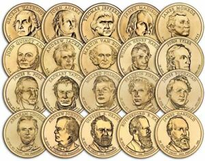 PRESIDENTIAL DOLLARS 2007-2020 US Uncirculated Dollar Coins Pick Yours