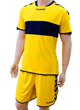 3X Hummel Sport Camiseta Balonmano 03-939 Ss Poli 5181 Amarillo/Azul XL Nuevo