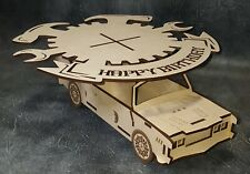 Car Cake Stand MDF Craft shapes, sweets, wedding,birthdays,special ocaision