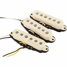 Fender Hot Noiseless Strat Electric Guitar Replacement Pickup Set 3 Aged White