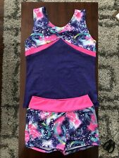 Freestyle By Danskin- Tank And Shorts (2 Pieces)- Euc- Size 7/8