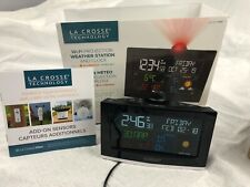 La Crosse professional weather station And Clock With AccuWeather Forecast.