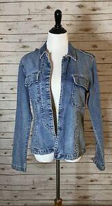Lucky Brand 100% cotton denim shirt jacket Size Large