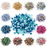 1Bag 8mm Mix Pearlized Glass Pearl Beads For DIY Jewelry Making about 100pcs/bag