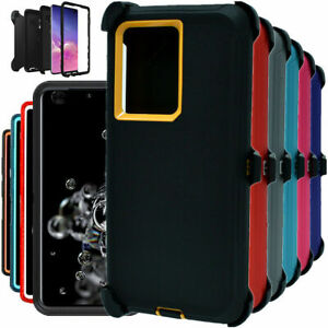 For Samsung Galaxy S21 S21+ Ultra 5G Hard Shockproof Case Cover with Belt Clip