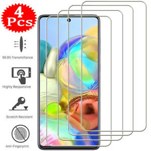 For Samsung Galaxy A12 A52 A72 A71 A51 A70 A50 Tempered Glass Screen Protector
