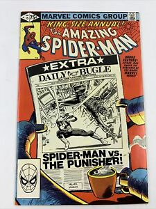 KING SIZE ANNUAL! THE AMAZING SPIDER-MAN COMIC (MARVEL,1981) #15 The Punisher VF