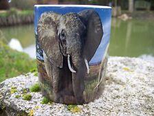 NA0774   CHOPE  TASSE  MUG  ELEPHANT  SAFARI  AFRIQUE     CERAMIQUE 20%
