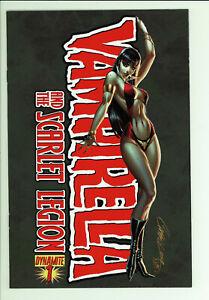 Vampirella Legion 1 - Campell Cover - High Grade 9.4 NM
