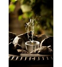 "Hukka ""Sisukas"" Decorative Soapstone Steam Fountain for Sauna"