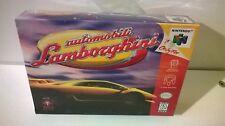Automobili Lamborghini Nintendo 64 N64 Brand New Factory Sealed