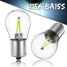 2x 1156 BA15S P21W COB White LED Turn Signal Light Reverse Backup Lamp Bulb 12V