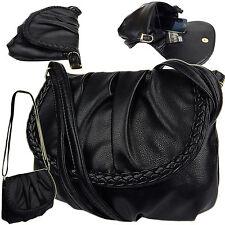 Abendtasche Fashion kleine Damentasche Handtasche Umhängetasche 3257 Schwarz