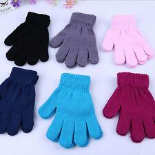 Best Children's Magic Gloves Baby Kids Gift Monochrome Knitted Gloves Random GT