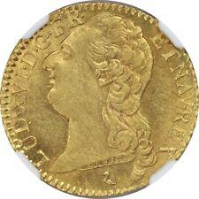 France 1786 Gold Louis d'or NGC MS62Louis XVI Paris swan